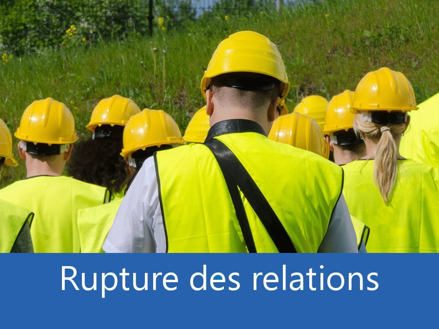 rupture des relation chantier 01, problème durant le chantier Bourg-en-Bresse, stress chantier Oyonnax, problème durant le chantier l'Ain,